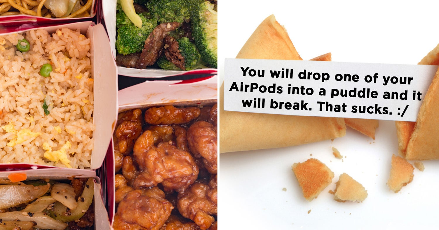 Order Chinese Takeout And We'll Give You A Bluntly Honest Fortune Cookie