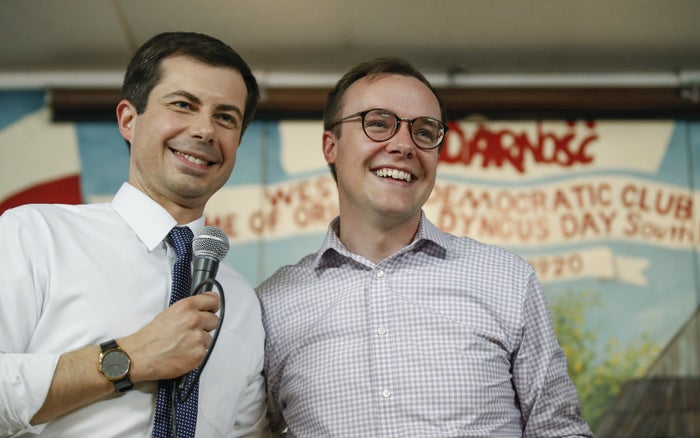 Pete Buttigieg and his husband, Chasten Buttigieg