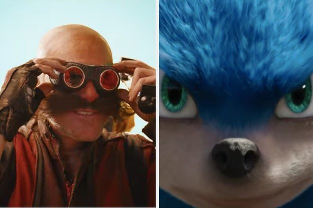 "Watch The Trailer For ""Sonic The Hedgehog"" That Has Some Fans Disturbed"