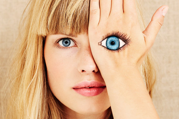 Don't Freak Out, But We Can Guess Your Eye Color Based On What You Eat