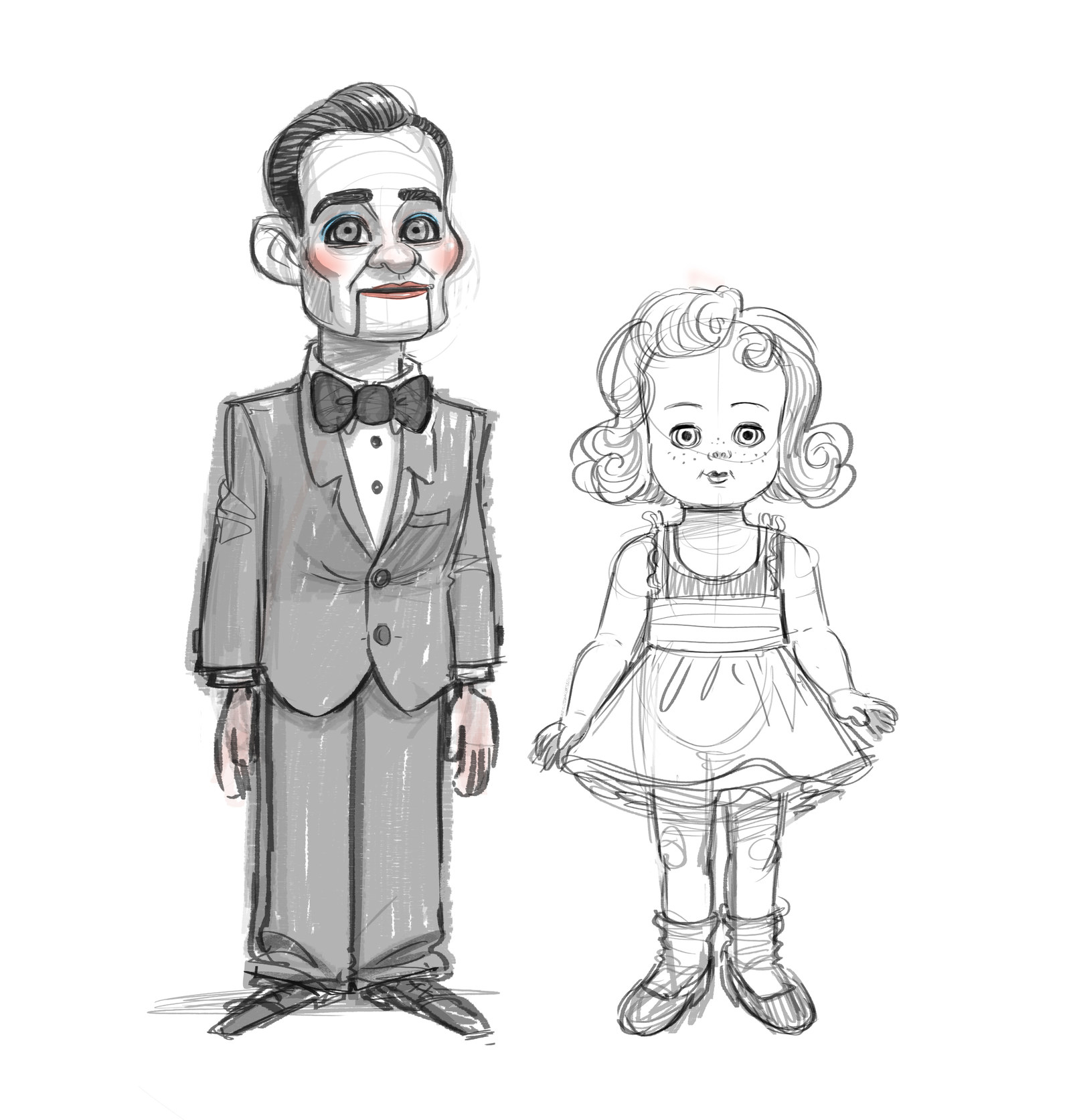 Ventriloquist Clipart #437134 - Illustration by toonaday | 1673x1600