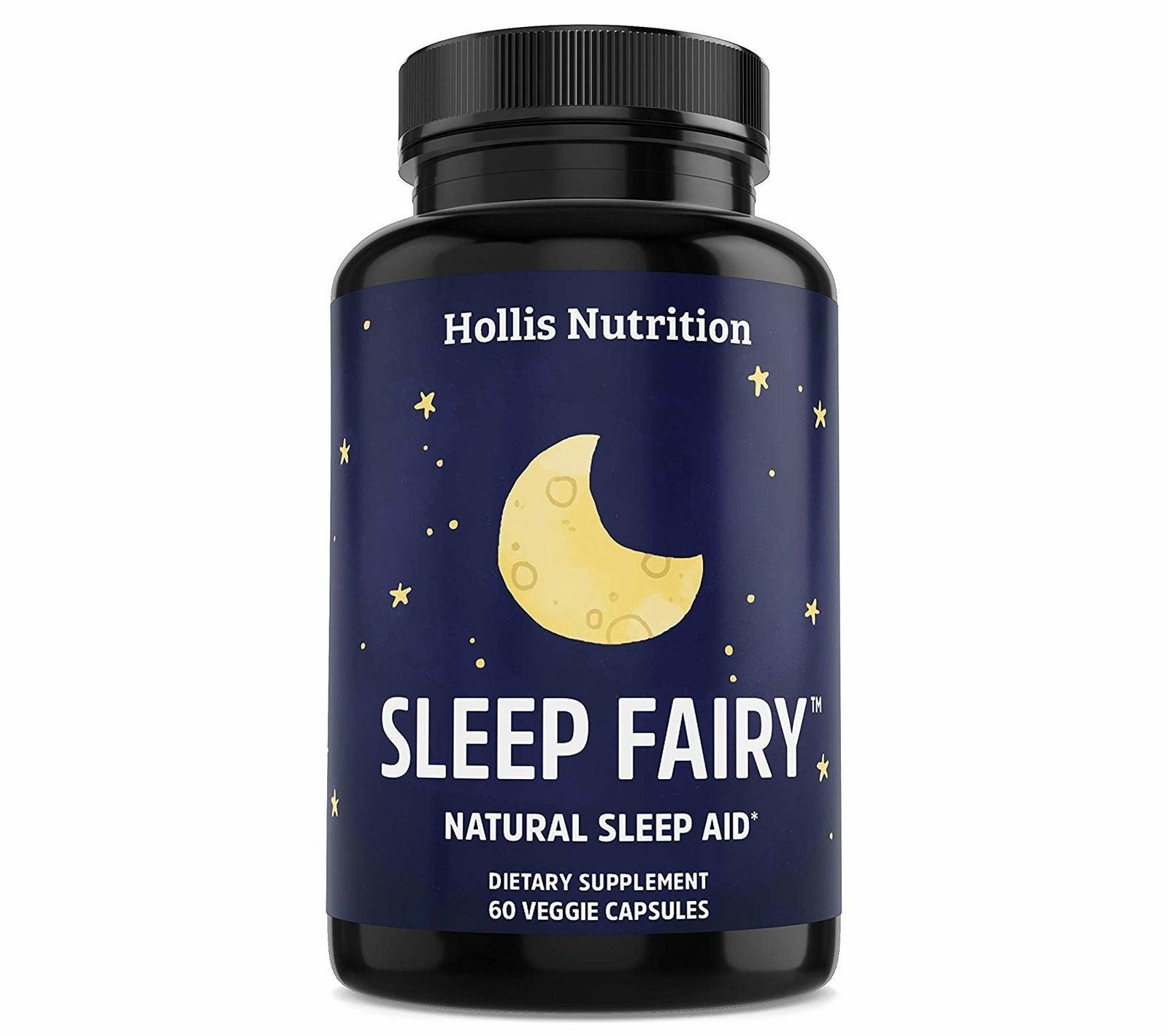 bottle of sleep fairy natural sleep aid