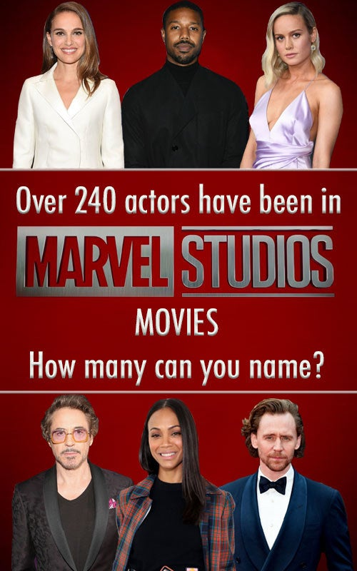 """The stars in this quiz are main and supporting characters in each of the 22 MCU movies. If you're trying to type in your cousin's name, who was """"Panicked NYC Citizen #8"""" in The Avengers, they're not going to be on here. Stick to the heroes, villains, aliens, and S.H.I.E.L.D. agents and you'll do just fine."""