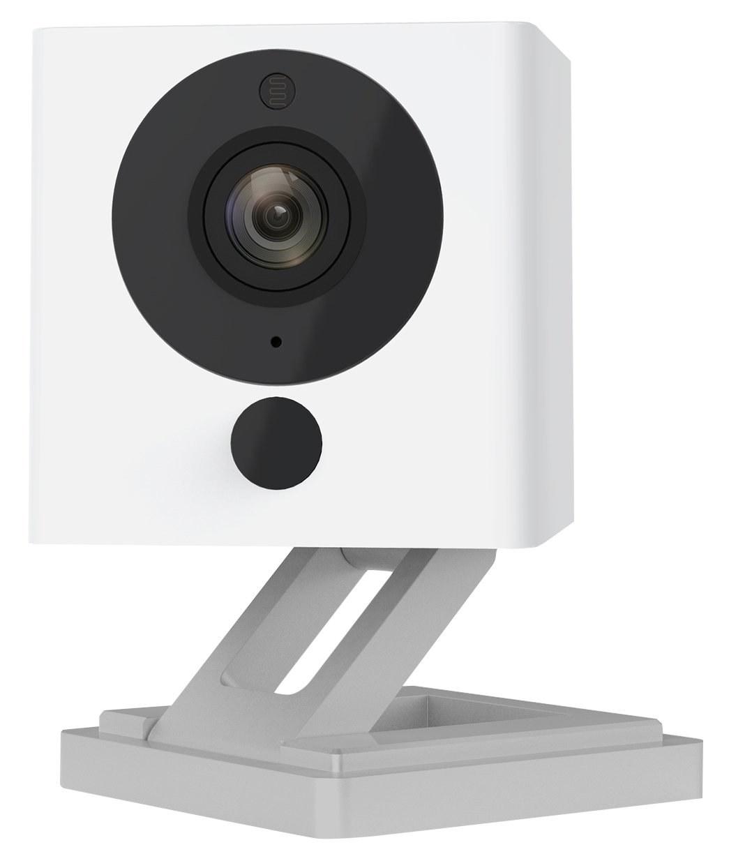 Closeup of the square wireless camera