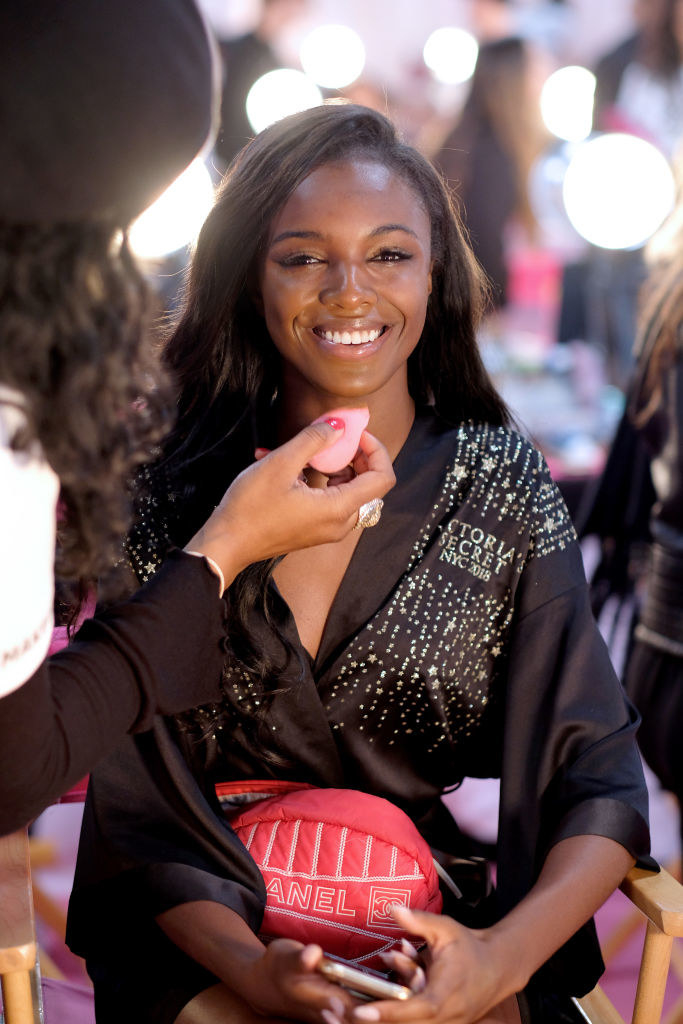 c84f2b3f401 Runway Model Leomie Anderson Just Became The First Black British Victoria s  Secret Angel