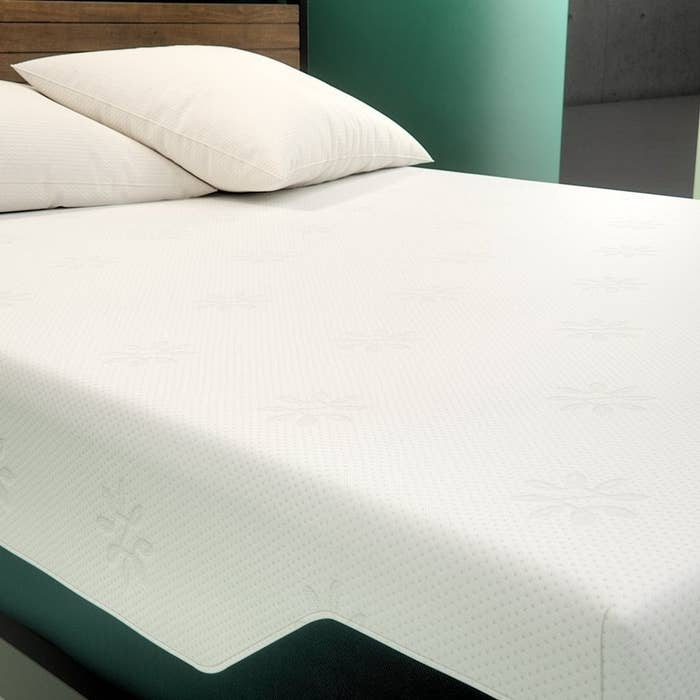 """Promising review: """"I use to think nothing could be better than the bed I currently had but had friends tell me how much they loved their Zinus mattress so I decided to get one. I love my Zinus mattress. Since sleeping on this, my old bed actually hurts my back now. I will never switch back to my old mattress."""" —amberforestGet it from Zinus for $200+ (available in four sizes and two thickness options)."""