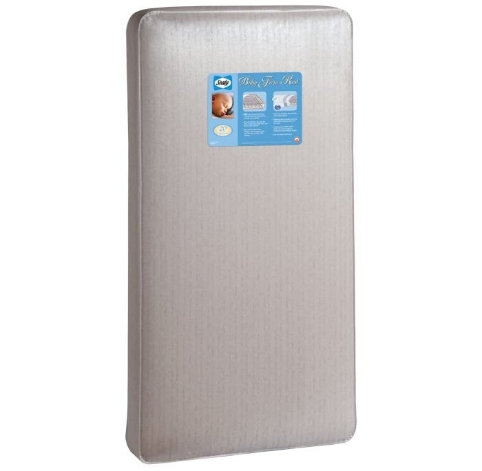 "Promising review: ""I love this mattress! We received one as a gift for our first child and wanted the second to have it as well. Firm, yet comfy and fits perfectly in a crib. And it's waterproof for those sleepytime accidents! Easy to clean, change the sheets, etc!"" —Momof2Get it from Hayneedle for $98.28."