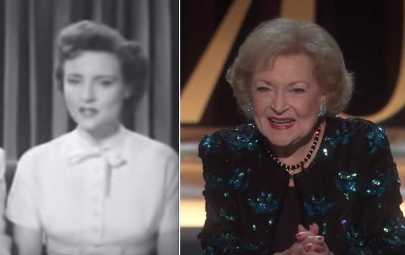 """Betty is 97 years old and was born on January 17, 1922. The first time a pre-sliced loaf of bread was sold was over six years later in 1928. I guess the popular phrase should be changed to """"that's the best thing since Betty White,"""" not sliced bread.—kwaters2017"""