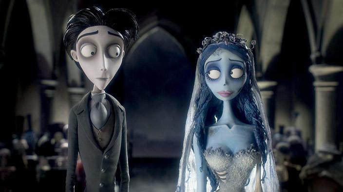 Another Tim Burton for you. Corpse Bride is a fan favorite. It deals with themes like social status and death, and is better for more mature audiences.