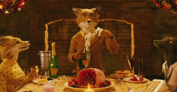 """Fantastic Mr. Fox is a visually satisfying Wes Anderson film based on Roald Dahl's 1970 children's novel. A.O. Scott of The New York Times described it this way, """"Once you adjust to its stop-and-start rhythms and its scruffy looks, you can appreciate its wit, its beauty and the sly gravity of its emotional undercurrents."""" Sounds about right."""
