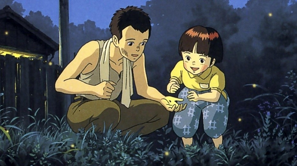 Grave of the Fireflies is another Studio Ghibli film, but unlike Spirited Away, it's a World War II story about two siblings trying to stay alive. This one will make you cry, too.