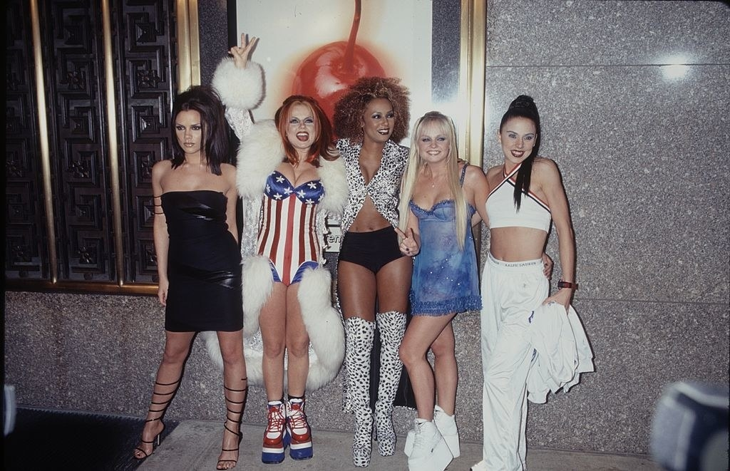 The Spice Girls at the 1997 VMAs