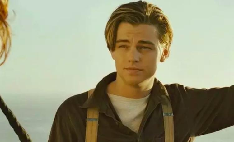 """A screenshot of Leonardo DiCaprio from """"Titanic"""""""