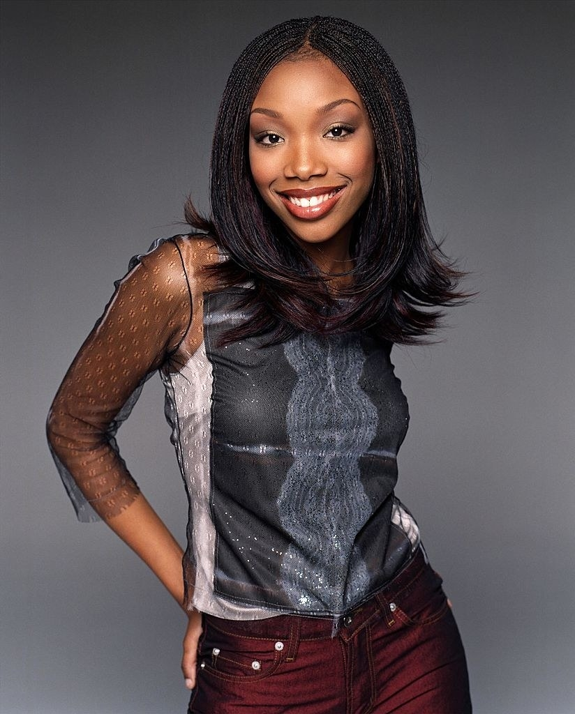 """A publicity photo of Brandy taken for """"Moesha"""""""