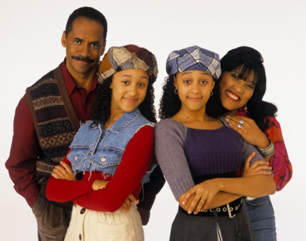 """A """"Sister, Sister"""" publicity photo"""