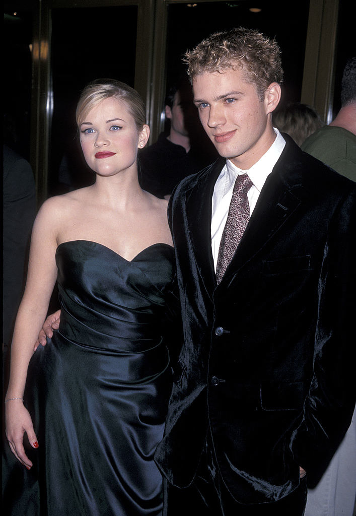 Reese Witherspoon and Ryan Phillipe at an event in the late '90s