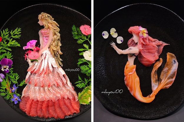 This Sashimi Artist On Instagram Makes The Most Incredible Creations