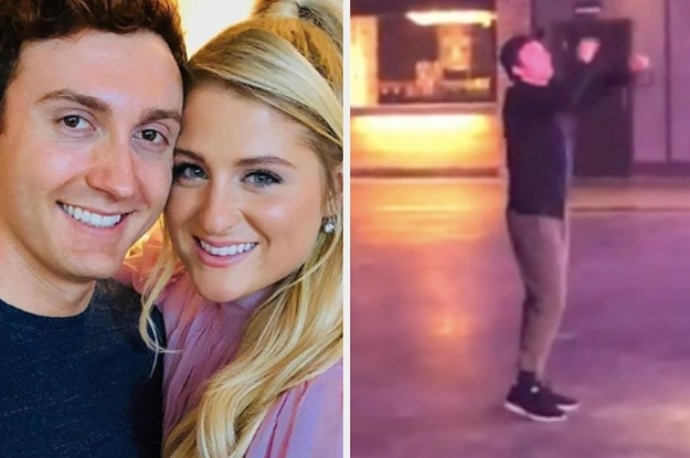 This Video Of Daryl Sabara Hyping Up Meghan Trainor Proves He Is 100% Husband GOALS