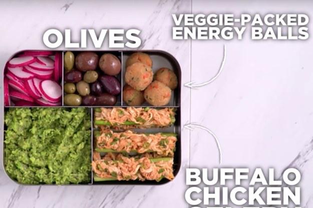 16 Easy Bento Box Lunch Ideas For Anyone Avoiding Carbs