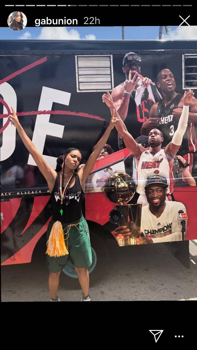 Gabrielle Union And Dwyane Wade Attended Miami Beach Pride Parade To