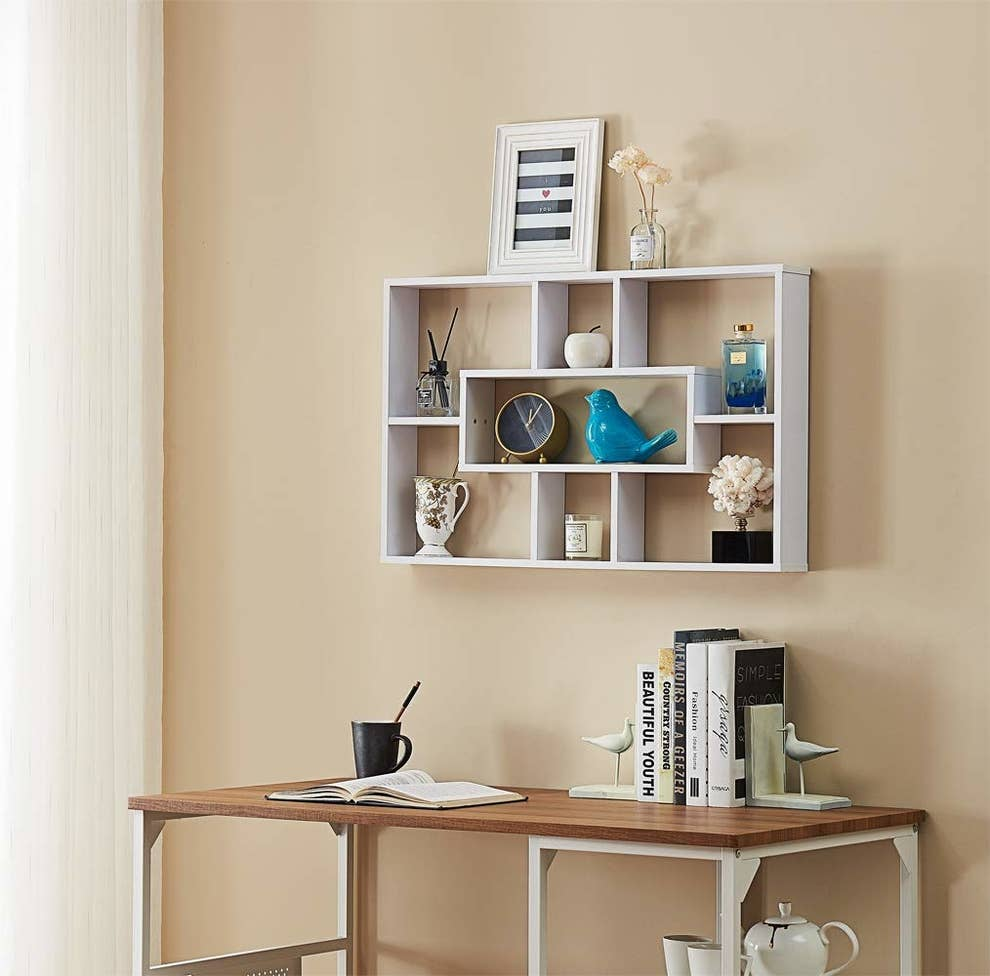 21 Wall Storage Ideas For When You Have No More Room