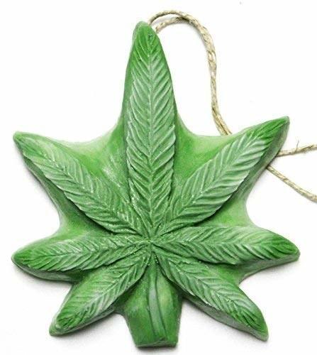 marijuana shaped soap