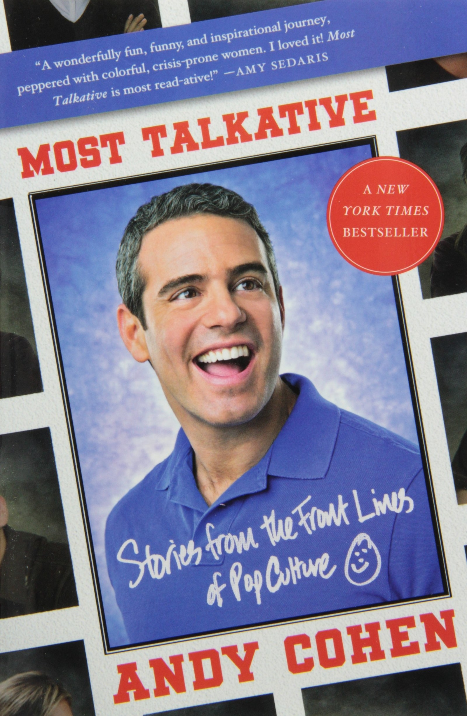 the cover of andy cohen's book