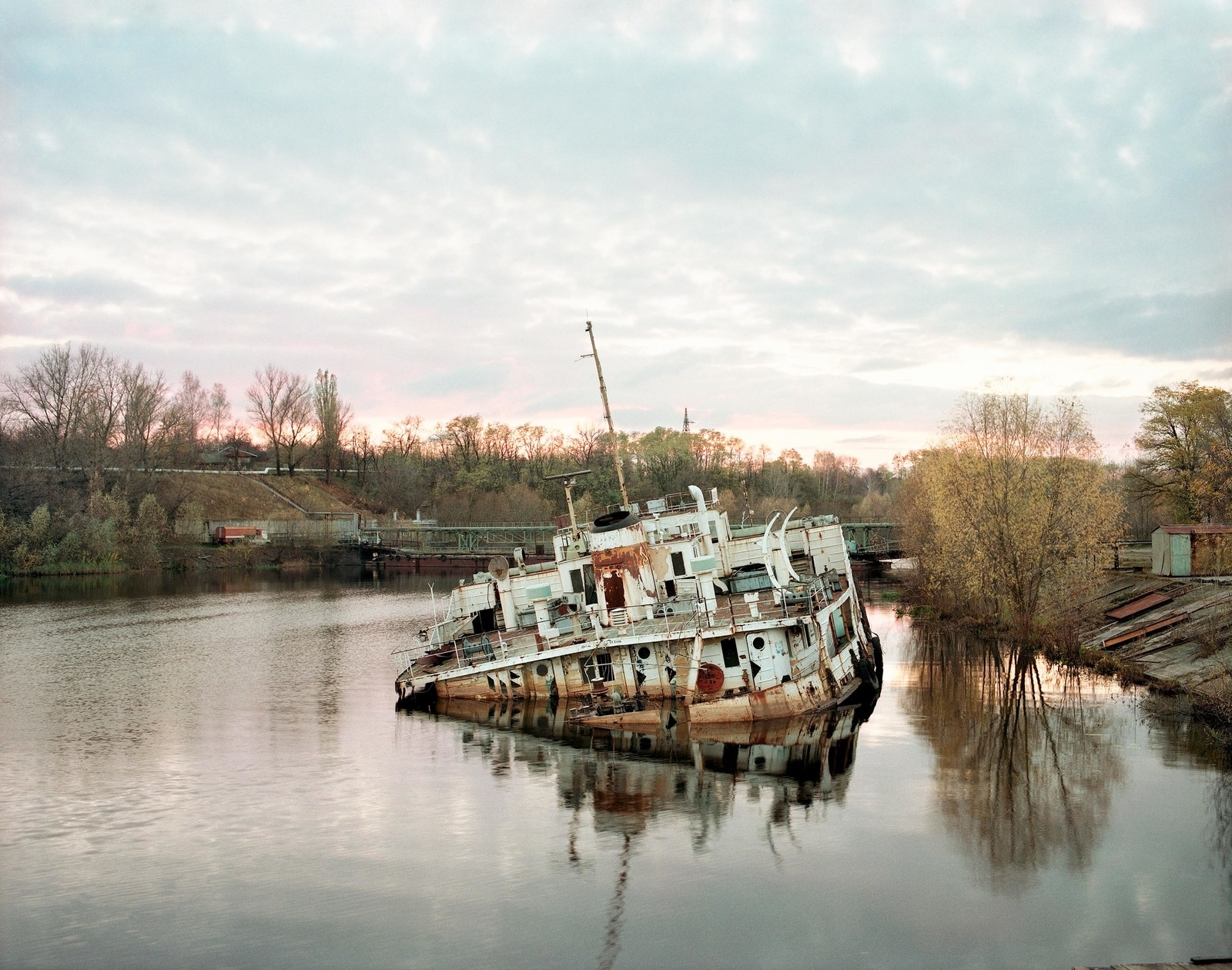 14 Apocalyptic Pictures From The Aftermath Of Chernobyl