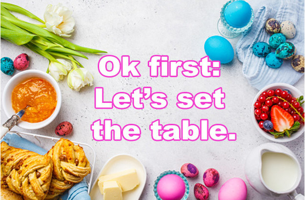 Eat An Easter Meal And We'll Tell You Which Easter Candy You Are