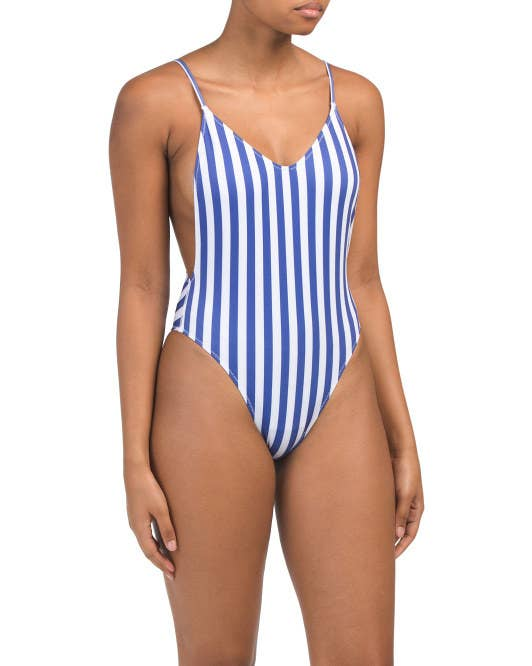 79ecf940e690 A cheeky striped number from the Kendall + Kylie collection to help you  channel your inner-Kardashian as you get some sun.