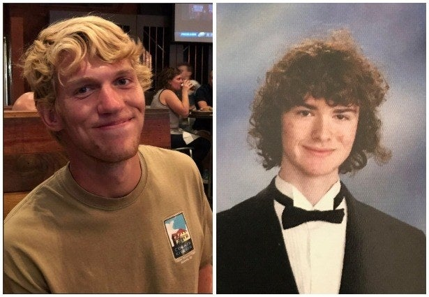 "Riley Howell (left) and Ellis ""Reed"" Parlier, the two victims of the UNCC shooting."