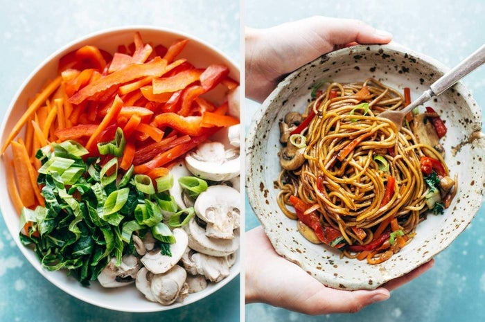 You might be used to eating takeout lo mein, but making your own is easier than you'd think. With 15 minutes of prep and less than 10 ingredients, this lo mein will be your new Saturday go-to.