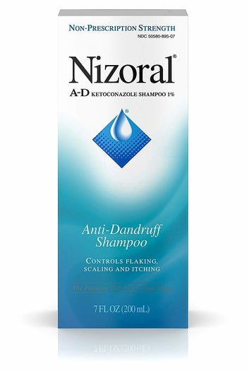 box of dandruff shampoo