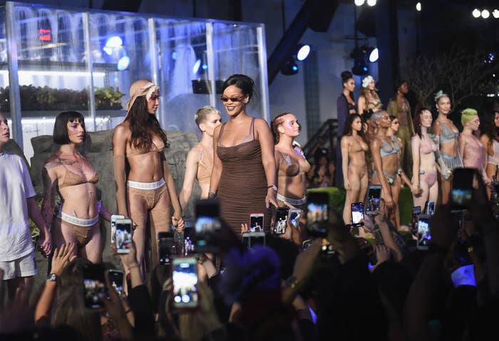 new style df66b 9adc5 In partnership with LVMH, Rihanna s new luxury Maison will give us  ready-to-wear CLOTHING as well as accessories that include shoes,  sunglasses, ...
