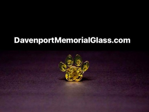 It's called Davenport Memorial Glass, and the owner is Cameron Davenport.