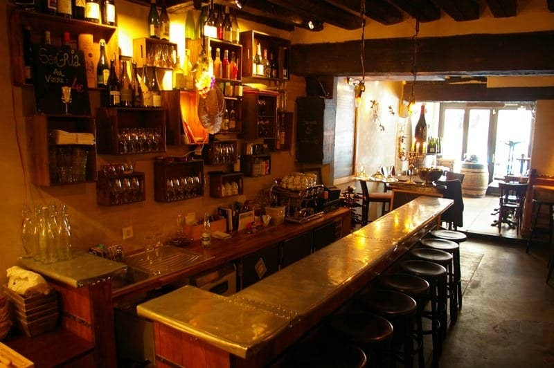 """""""This amazing local wine bar in the Latin Quarter is an intimate spot with great food, a wonderful atmosphere, and great wine,"""" — kaitlins4ef8ec16a14 Rue Boutebrie"""
