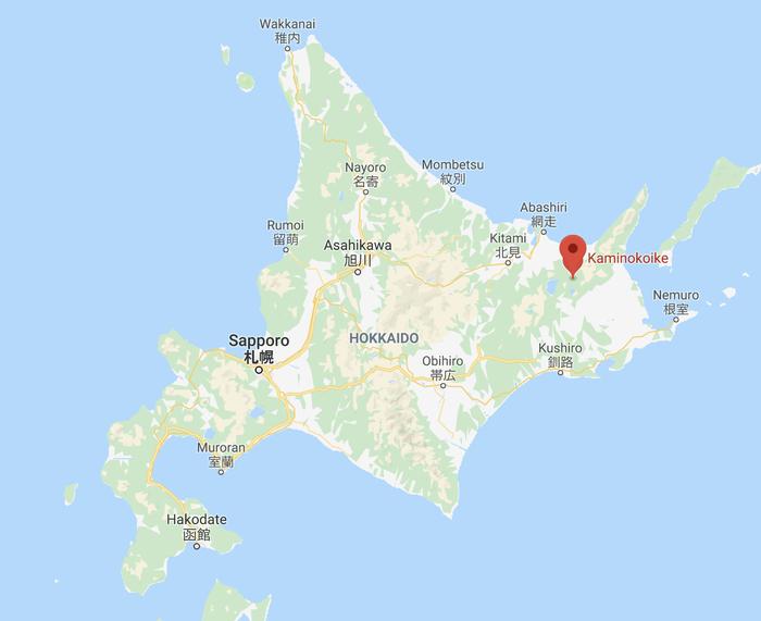 地図上の赤いピンが立っている場所です。