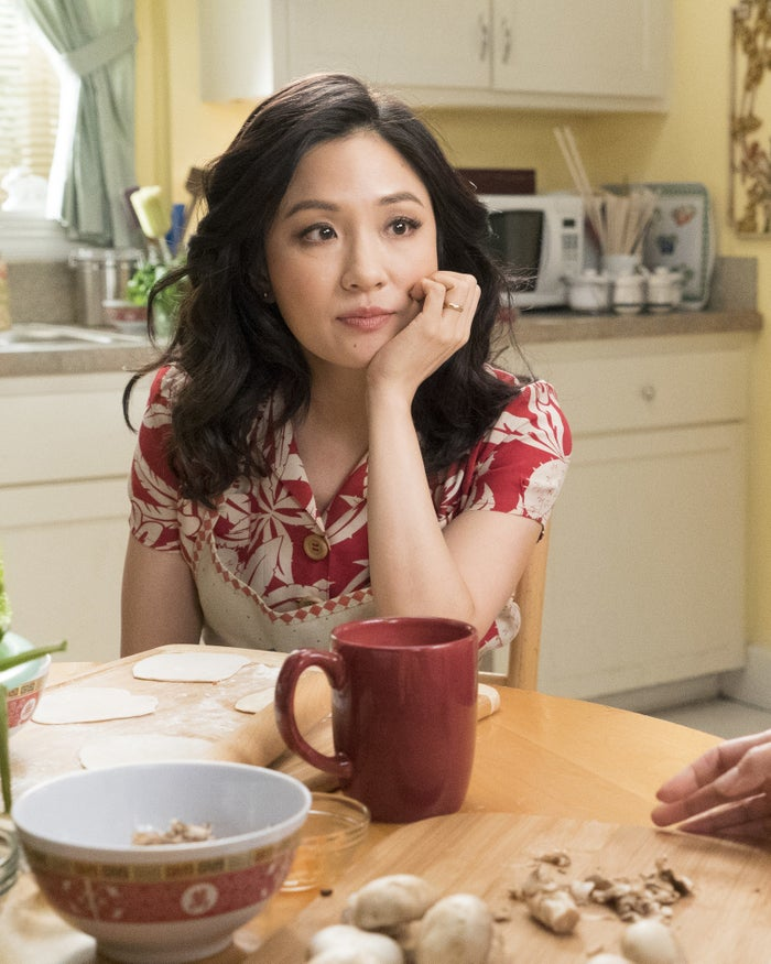Wu as Jessica Huang on Fresh Off the Boat.