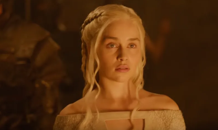 "I rewatched all of Daenerys's scenes in the last week, and I was struck not by her repeating ""I will take what is mine with fire and blood"" (which she only really said once by the way), but by how every single time she was confronted with a difficult choice, she tried to do what was right — even at great personal cost. The show may have been building to this the whole time, but they haven't done an effective job of developing Daenerys's downfall at all. It makes no sense that she would torch all of King's Landing after the Lannisters had surrendered. Even if she is ""mad"" with grief, why would she attack the whole city, and not just go after Cersei? Nothing in Daenerys's character arc — nothing — suggests she would kill hundreds of thousands of innocent people rather than going straight for her true enemy."