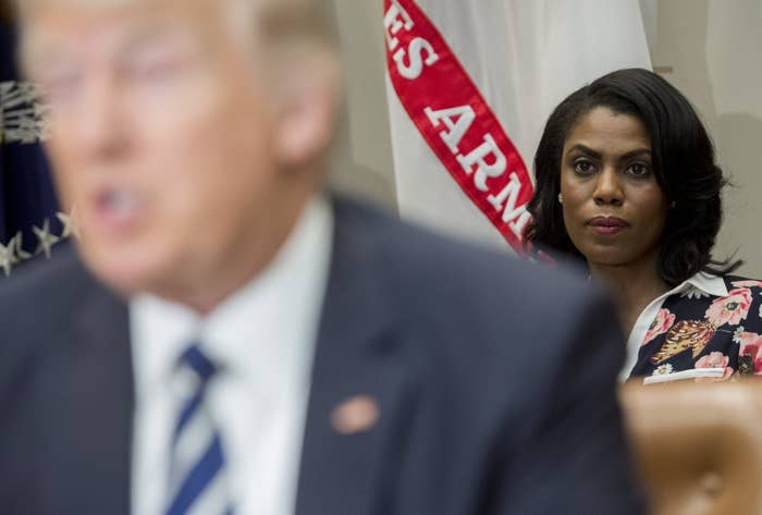 Omarosa Wants To Join A Lawsuit Accusing The Trump Campaign Of Gender Pay Discrimination