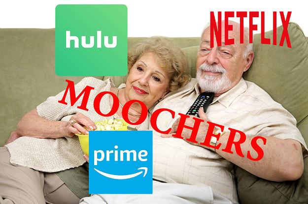 Baby Boomers Are Mooching Their Millennial Kids' Netflix Passwords