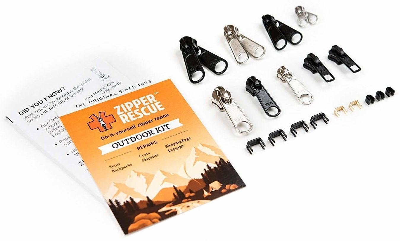 The Zipper Rescue kit.