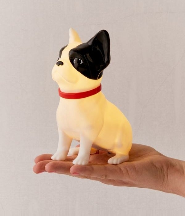 TBH, this looks more like a Boston terrier to me, but a cute dog light is a cute dog light!Get it from Urban Outfitters for $16.
