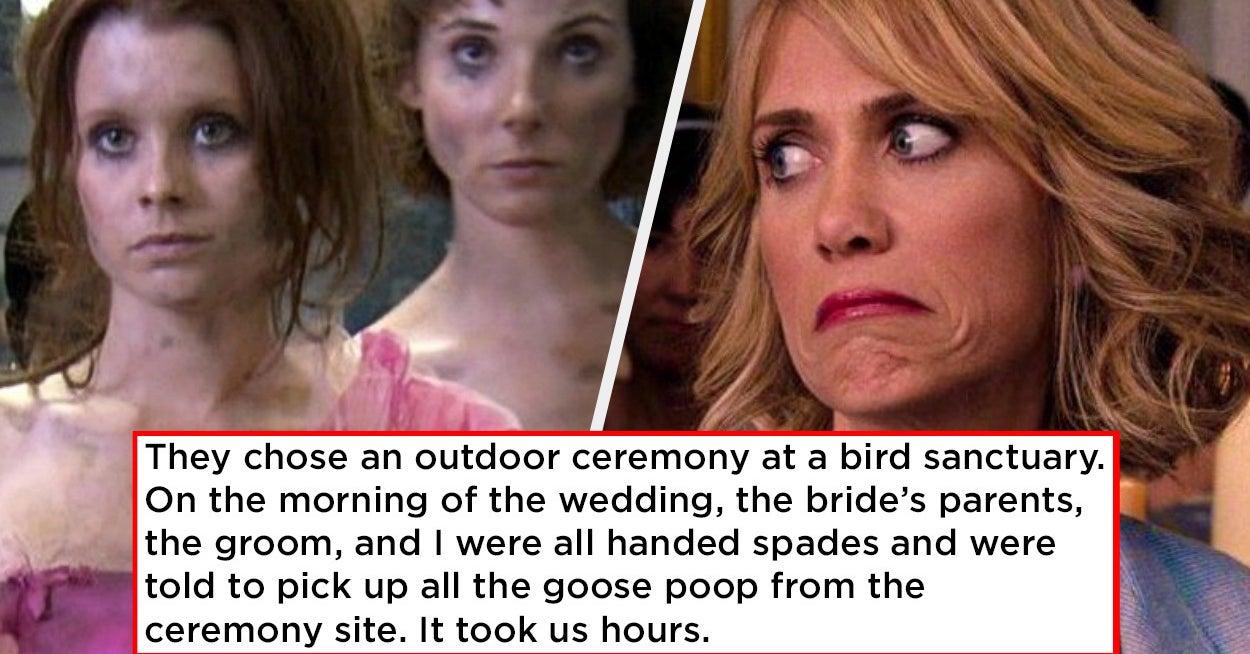 17 Times Bridesmaid Duties Went A Liiiiittle Too Far