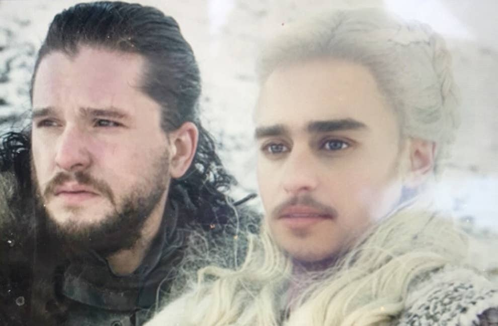 Here S The New Snapchat Filter On The Game Of Thrones Characters