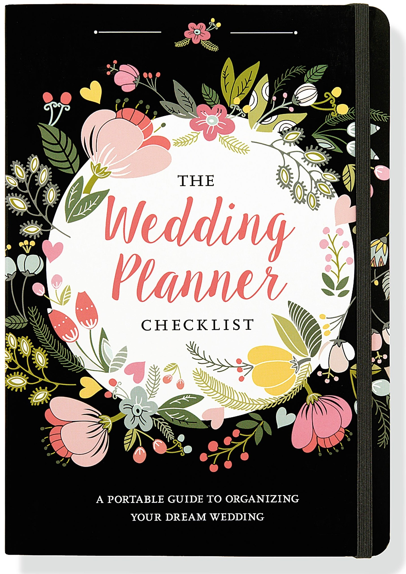 """The small planner has places to jot down notes and checklists so you remember every little detail.Promising review: """"This has been so great to have! I ordered this planner a few weeks after I got engaged just to have something to follow along with the planning process. The huge books seemed too much for me and had pages that I would never use and information I would never read. This compact version can fit in your purse but also has all the pages to write out what you talk to the caterer/ baker/florist/etc., about. I love this planner!"""" —Amazon CustomerPrice: $7.80"""