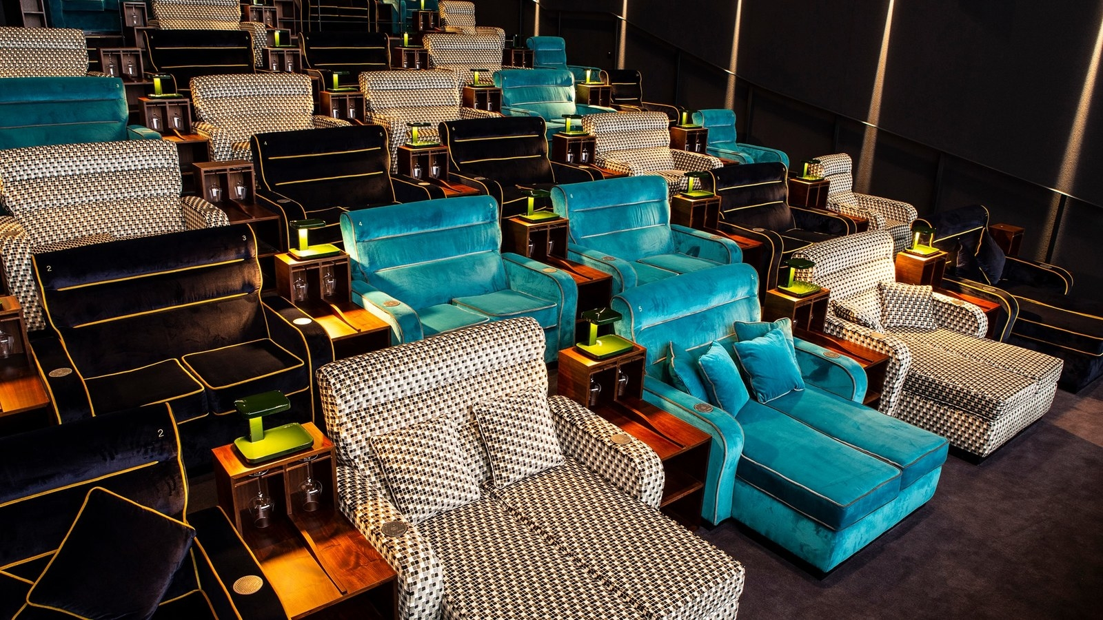 You'll never go back to regular movie theater chairs ever again.