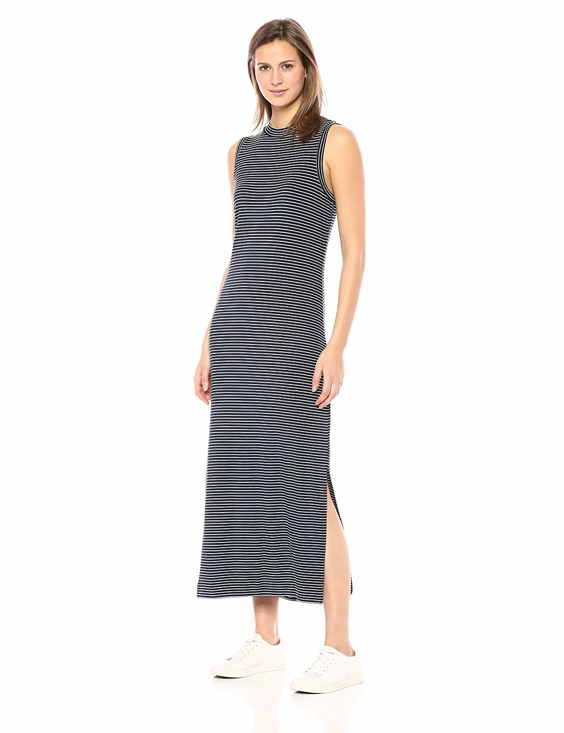 c9243acc66e A mock-neck maxi dress made from a super soft jersey material — so if you  want to feel like you re wearing pajamas whilst in public