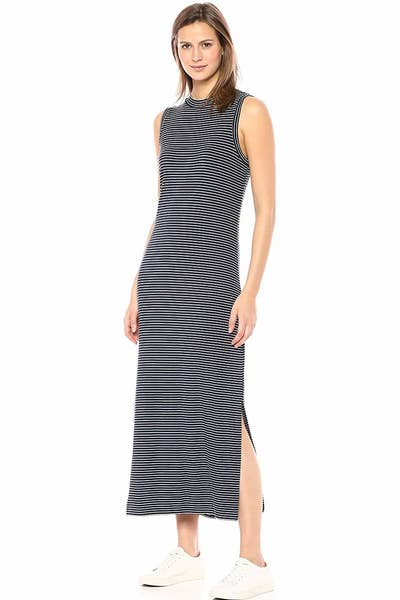 3fe5b9dd1 A mock-neck maxi dress made from a super soft jersey material — so if you  want to feel like you're wearing pajamas whilst in public, then you should  add ...