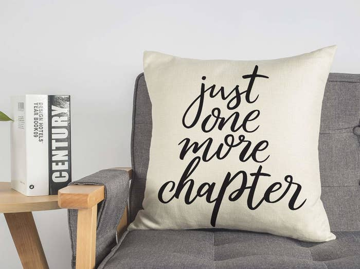 Get the cover from Amazon for $9.99 (available in six designs).And get an 18x18 pillow insert that'll fit this cover from Amazon for $9.99.